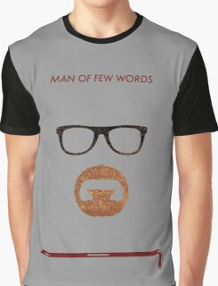 Man of few words. Graphic T-Shirt
