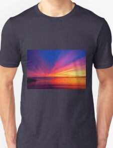 Saturated Sunset Unisex T-Shirt