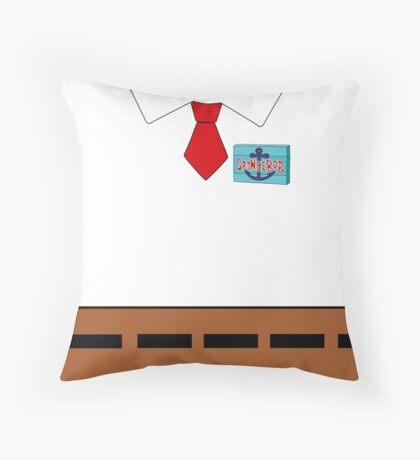 Spongebob SquarePants Name Badge Throw Pillow