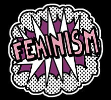 Feminism Pop Art Statement Feminist by riotcakes