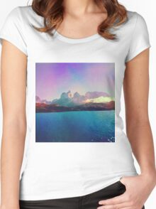Life In Technicolor. Women's Fitted Scoop T-Shirt