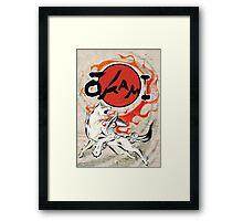 Classic Okami Framed Print