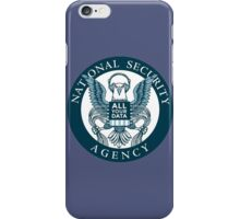 national security agency ( parody ) iPhone Case/Skin