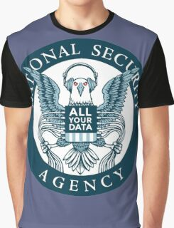 national security agency ( parody ) Graphic T-Shirt