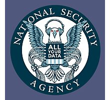national security agency ( parody ) Photographic Print