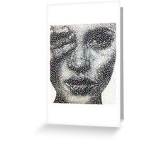 Crystallised Kate  Greeting Card