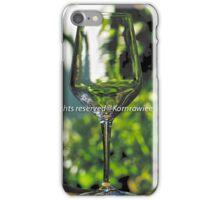 Stem glass, Still life iPhone Case/Skin
