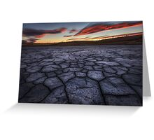 Cracking Sunset Greeting Card