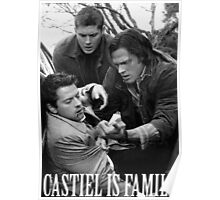 Castiel is family Poster