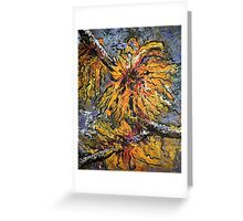 Impressionist Floral Greeting Card