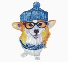 the corgi dog  Kids Clothes