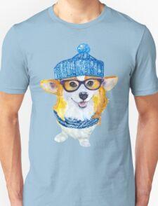 the corgi dog  Unisex T-Shirt