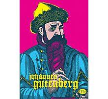 Johannes Gutenberg Photographic Print