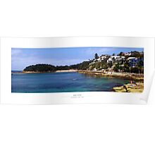 Shelly Beach, Manly, Australia Poster