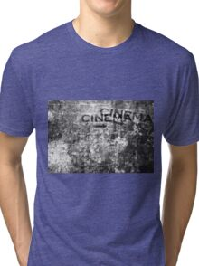 The black and white mystery of cinematography Tri-blend T-Shirt