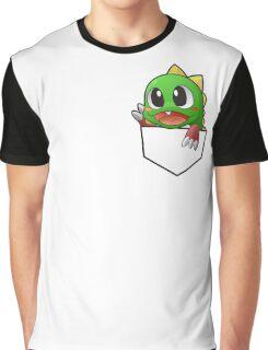 Bust a Move Pocket Bobble Design Graphic T-Shirt