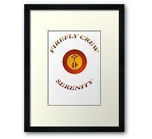 FIREFLY CREW Serenity Framed Print