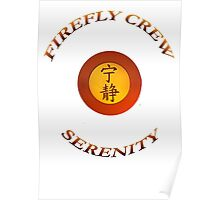 FIREFLY CREW Serenity Poster