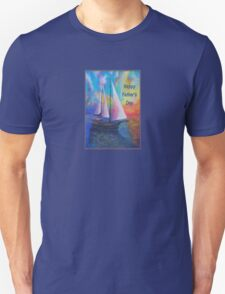 Happy Father's Day Bodrum Turquoise Coast Gulet Cruise T-Shirt