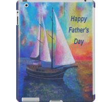 Happy Father's Day Bodrum Turquoise Coast Gulet Cruise iPad Case/Skin