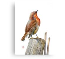 Bird on the tree Canvas Print