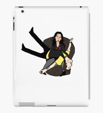 Joan and Sherlock iPad Case/Skin