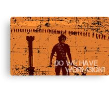 Do We Have Wormsign? - Inspired by Dune Canvas Print