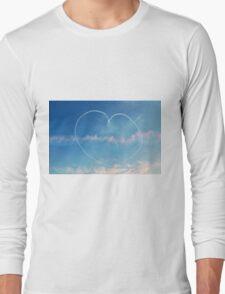 Heart in the sky Long Sleeve T-Shirt