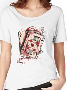 Playing To Win Ace and Jack of Spades Women's Relaxed Fit T-Shirt