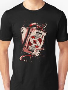Playing To Win Ace and Jack of Spades T-Shirt