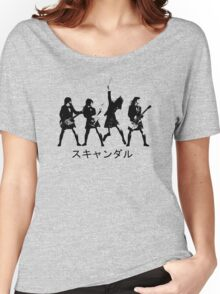 Scandal (japanese band) Women's Relaxed Fit T-Shirt