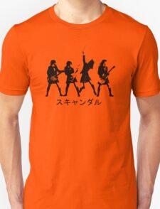 Scandal (japanese band) Unisex T-Shirt