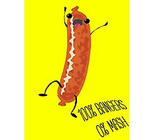 Silly Sausage Photographic Print