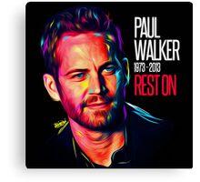 Paul Walker The Best of Actor Canvas Print