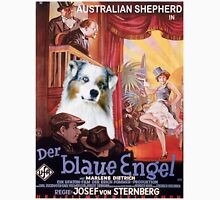 Australian Shepherd - Der Blaue Engel Movie Poster T-Shirt
