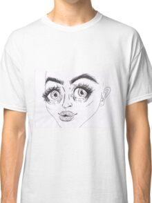 Lippy (Black&White) Classic T-Shirt