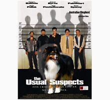 Australian Shepherd  - The Usual Suspects Movie Poster T-Shirt