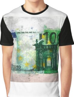 100 euro impressionism painting Graphic T-Shirt