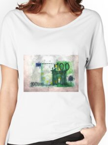 100 euro impressionism painting Women's Relaxed Fit T-Shirt