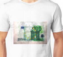 100 euro impressionism painting Unisex T-Shirt