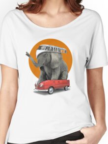 VW Elephant Women's Relaxed Fit T-Shirt