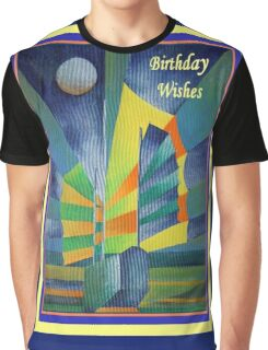 Birthday Wishes Junk By The Light Of The Silvery Moon Graphic T-Shirt