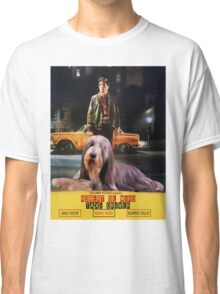 Bearded Collie - Taxi Driver Movie Poster Classic T-Shirt