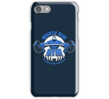 Mighty Blue Gym iPhone Case/Skin