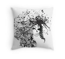 Good And Bad Throw Pillow