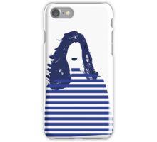 Stripe girl iPhone Case/Skin