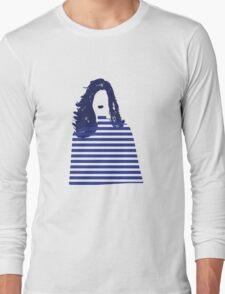 Stripe girl Long Sleeve T-Shirt