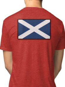 Scotland, SNP, S.N.P, Scottish Independence, Scottish Flag, Saltire, Scots, Flag of Scotland, Pure & Simple Tri-blend T-Shirt