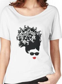 Red Lips Women's Relaxed Fit T-Shirt