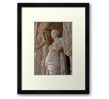 Sophia, Celsus Library Ephesus Turkey Framed Print